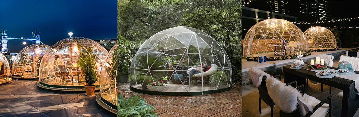 Frame Bubble Tent Dome