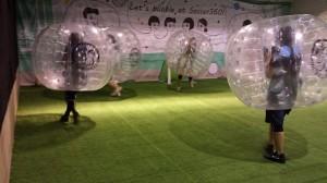 bubble football uk
