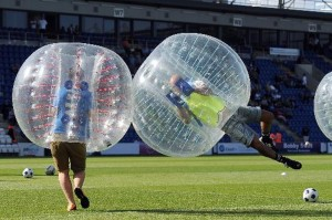 bubble football uk