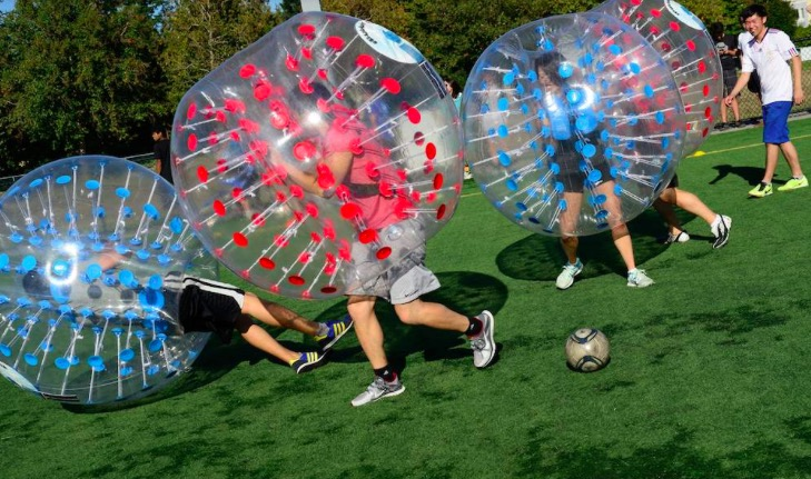 bubble-football-ball