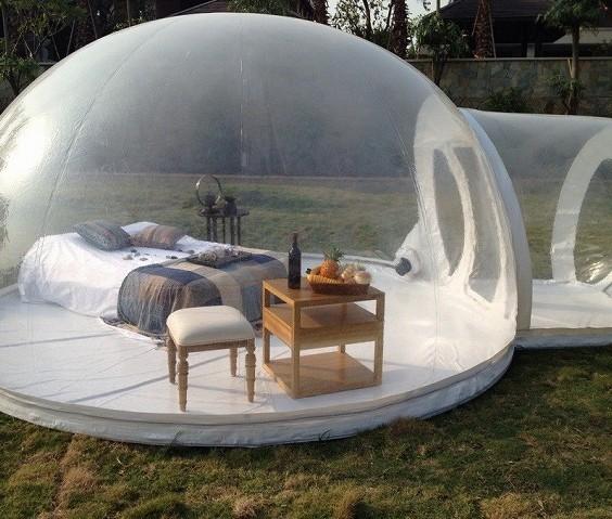 bubble tent uk